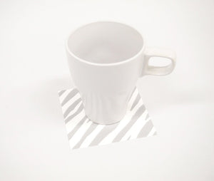 [Made in Japan]  DECOOR Interior Cloth Table Runner Animal Zebra Grey