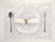 Load image into Gallery viewer, [Made in Japan]  DECOOR Interior Cloth Table Runner Animal Zebra Grey