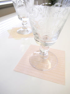 [Made in Japan]  DECOOR Interior Cloth Table Runner Ram Line Pink