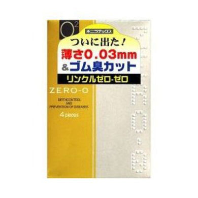 Condoms Zero-0 0.03mmmm wrinkle zero zero 4 pcs