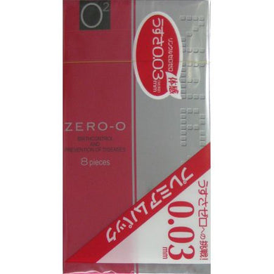 Condoms Zero-0 0.03mmmm wrinkle zero zero 8 pcs * 2 Packs