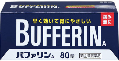 Bufferin A 80 Tablets, ,1,headache,Menstrual Pain,menstrual pains,,joint pain,Neuralgia,Nerves Pain,Back Pain,muscle pain,Stiff shoulder pain,throat pain,tooth pain,after tooth extraction pain,Bruise pain,sprain,fractura pain,traumatic pain,painkiller  ,2,chills,lowering of fever