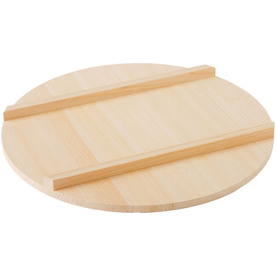 IKEGAWA Wood Sushi Rice Tub Lid 39cm Kiso Cypress Wood