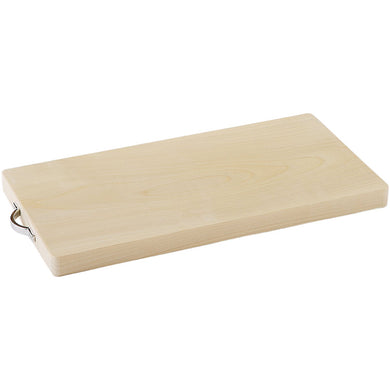 IKEGAWA Wood Magnolia Wood Cutting Board Single Sheet Board Medium With Handle