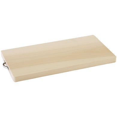 IKEGAWA Wood Magnolia Wood Cutting Board Single Sheet Board Large With Handle