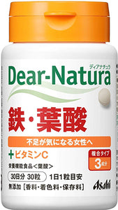 Dear Natura Style, Iron and Folic Acid (Quantity For About 30 Days) 30 Tablets