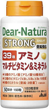 Dear Natura Style, Strong39 Amino / Multi Vitamin & Mineral (Quantity for About 50 Days) 150 Tablets