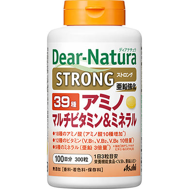 Dear Natura Style, Strong39 Amino / Multi Vitamin & Mineral About 100 Days 300 Tablets