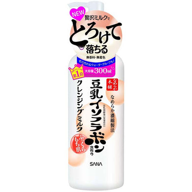 Nameraka Honpo Fermented Soy Moisturizing Easy Wash Cleansing Milk 300ml