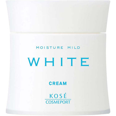 KOSE Cosmeport Moisture Mild White Cream 55g Japan Royal Jelly Vitamin C Whitening Beauty Skin Care