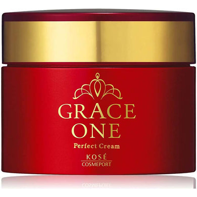 KOSE Cosmeport Grace One Perfect Cream 100g Extra Rich Collagen Astaxanthin Japan Anti-aging Beauty Skin Care