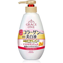 Load image into Gallery viewer, KOSE Grace One Medicinal Whitening Perfect Milk Moisturizer 230ml (Quasi-drug) Japan Extra Concentrated Vitamin C Beauty Skin Care