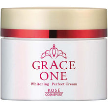 Load image into Gallery viewer, KOSE Grace One Medicinal Whitening Perfect Cream 100g Japan Anti-aging Collagen Vitamin C Skin Care