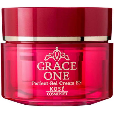 KOSE Grace One Perfect Gel Cream EX Rich Repair Beauty Gel 100g Japan Anti-aging All-in-One Collagen Beauty Skin Care