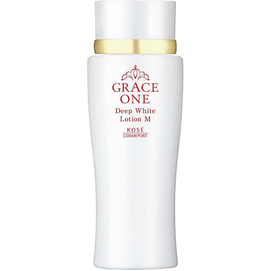 KOSE Grace One Medicinal Whitening Deep White Lotion (Moist Lotion) 180ml Japan Anti-aging Skin Care High Concentration Vitamin C