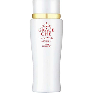 KOSE Grace One Medicinal Whitening Deep White Lotion (Very Moist Lotion) 180ml Japan Anti-aging Skin Care High Concentration Vitamin C