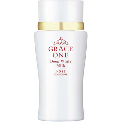 KOSE Grace One Medicinal Whitening Deep White Milk (Emulsion) 180ml Japan Anti-aging Skin Care High Concentration Vitamin C