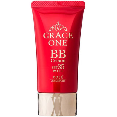 KOSE KOSE Grace One BB Cream 02 (Natural to Healthy Skin Color) 50g Japan Anti-aging Collagen Skin Care UV Protection