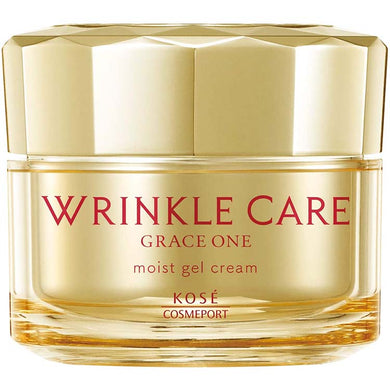 KOSE Grace One Wrinkle Care Moist Gel Cream 100g Japan Anti-aging All-in-One Skin Care
