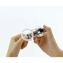 Load image into Gallery viewer, Craftsman's Skill  Nail clippers with Magnifying Glass (With Pouch)