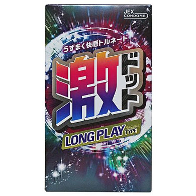 Condoms Exciting Geki Dot Long Play Type 8 pcs