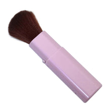 Load image into Gallery viewer, Made In Japan Slide Face Make-Up Cosmetics Brush Pink (MK-375P)