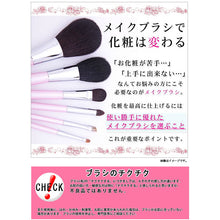Load image into Gallery viewer, KUMANO BRUSH Make-up Brushes  SR-Series Eye Shadow Brush Horsetail Horse Hair