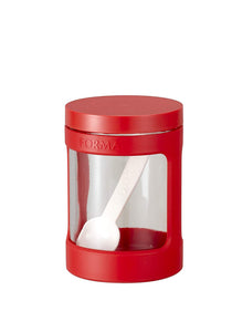 ASVEL Forma Glass Pot(Mini ) 1130 Red