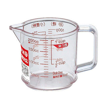 ASVEL Heat Resistant Measuring Cup R-200 2316 Clear