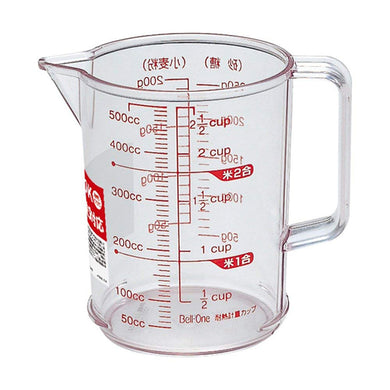 ASVEL Heat Resistant Measuring Cup R-500 2317 Clear
