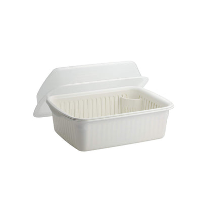 ASVEL N POSE Hood Container Water Drainer Set(Large) 4308 White