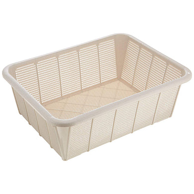 ASVEL POSE Basket(Deep Type Large) 4449 Strong White