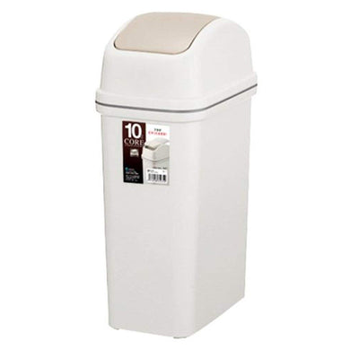 ASVEL CORE Swing Lid Dust Bin 10 6122 Beige
