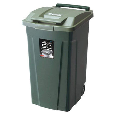 ASVEL SP With Handle Dust Box Bin 90 2 Wheels Included 6728 Green
