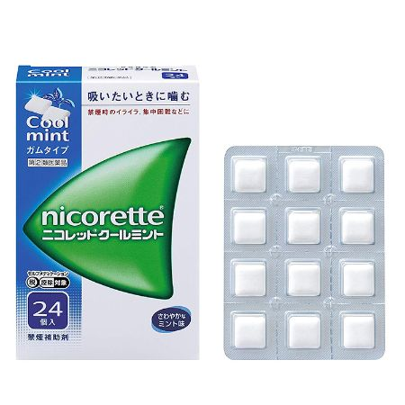 NICORETTE Cool Mint 24 Pieces
