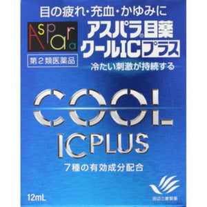 ASPARA EYE DROP COOL IC PLUS 12ml