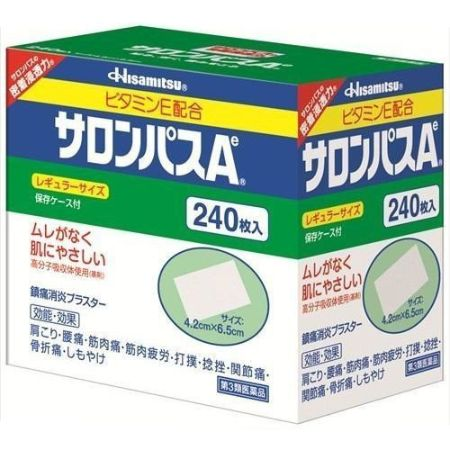 Salonpas Ae Analgesic anti-inflammatory patch 240 Sheet