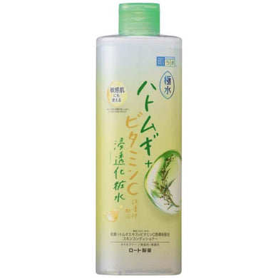 Hada Labo Gokumizu Pearl Barley Hatomugi + Vitamin C Penetration Lotion 400ml Japan Natural Beauty Moisture Skin Care
