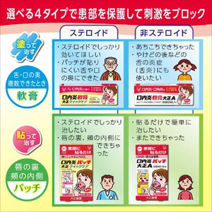TAISHO STOMATITIS PATCH QUICK CARE