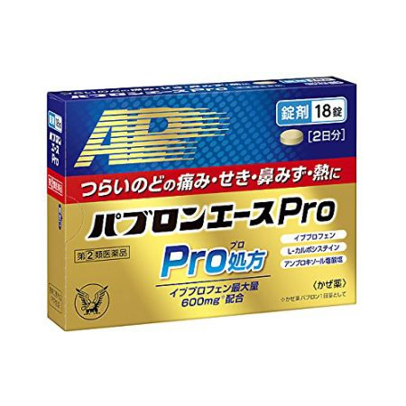 PABRON ACE PRO TABLETS 18 Tablets