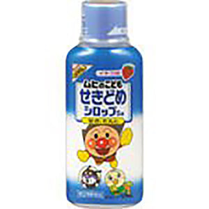 "Muhi Children's Cough Medicine Syrup Sa 120mL - Muhi Children's Cough Syrup S is a cough medicine for children that contains ingredients that are effective for coughing and phlegm.  Children's favorite strawberry flavor syrup. The design of ""Anpanman"" is designed to make it attractive and easy for even small children to consume.  Cough medicine developed for children from 3 months to under 8 years of age."