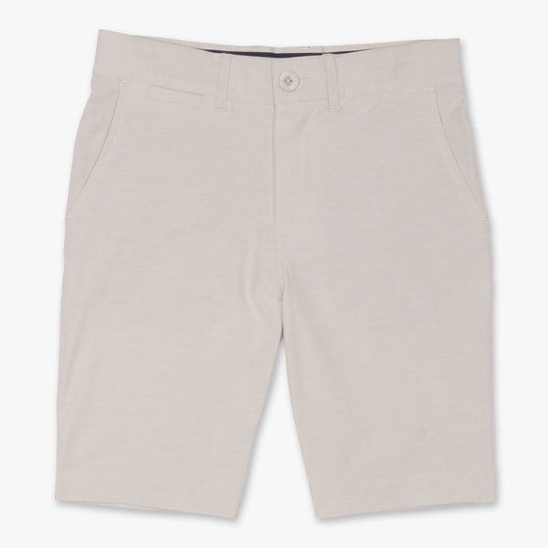 WYATT HEATHERED 4-WAY STRETCH SHORT