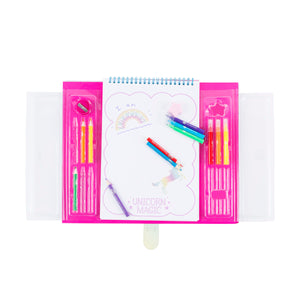 UNICORN MAGIC GRAB-N-GO SKETCHING KIT