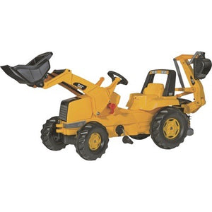 CAT FRONT LOADER WITH BACKHOE