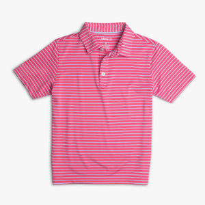 FRINGE 3-BUTTON POLO - CAYMAN