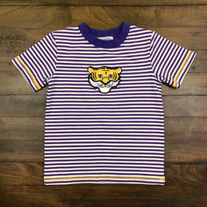 YELLOW TIGER BOY'S T-SHIRT