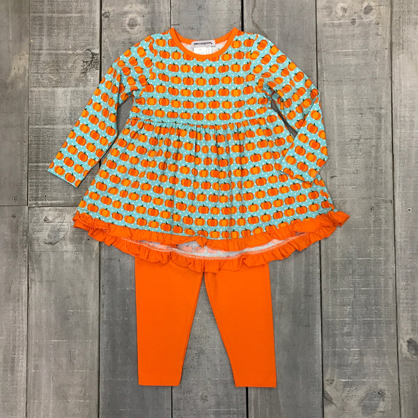 PUMPKIN EMPIRE TOP AND LEGGING SET