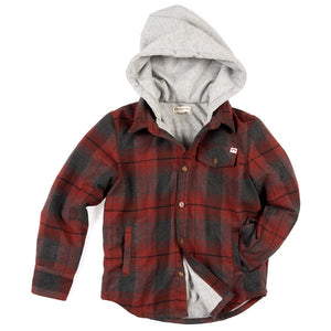 Glen Hooded Shirt