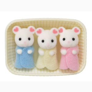 MARSHMALLOW MOUSE TRIPLETS - CC1806