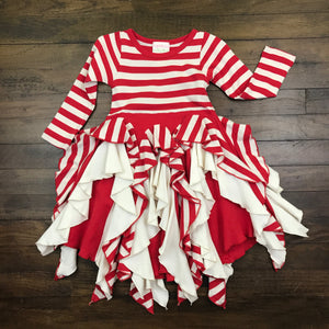 CANDY CANE SWIRL DRESS